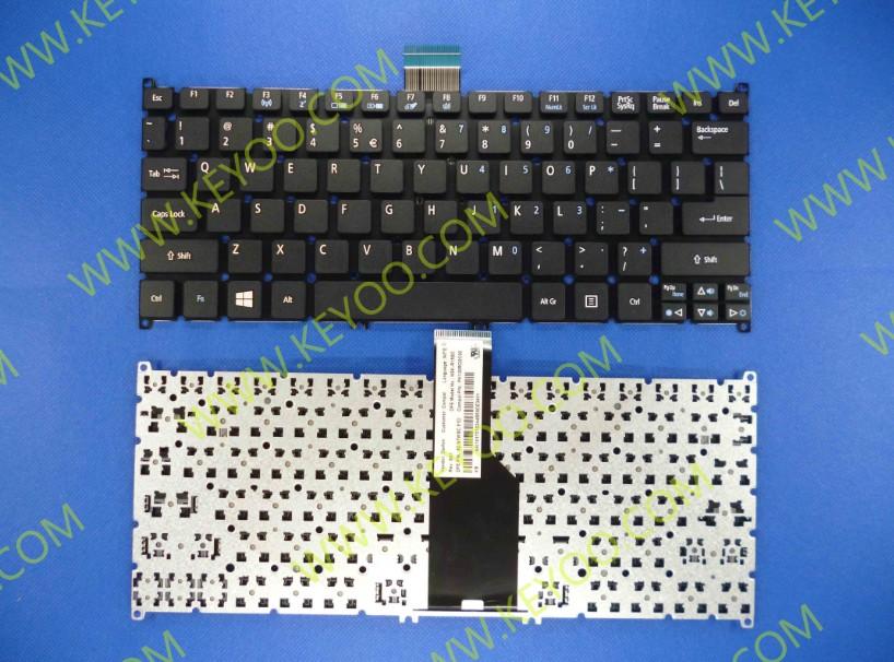 Acer Aspire S3 S5 V5 121 V5 131 One 756 Black Us Layout