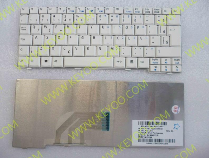 Acer One D150 Kav10 A150 Zg5 Kav60 Zg8 Br Layout Keyboard