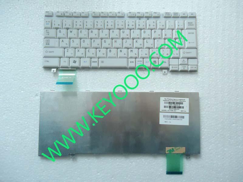 Toshiba U300 U305 M600 M606 M612 M700 Silver Jp